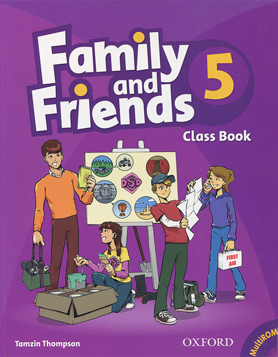 Family and Friends 5: Class Book (+ CD-ROM)