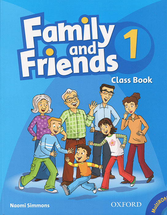 Family and Friends 1: Class Book (+ CD-ROM) oxford phonics world 1 the alphabet cd rom