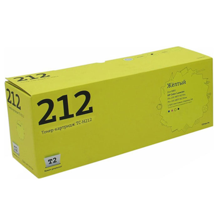 Картридж T2 TC-H212, желтый, для лазерного принтера