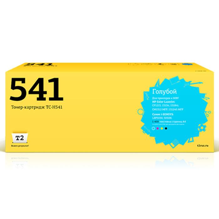Картридж T2 TC-H541, голубой, для лазерного принтера картридж t2 tc s406c голубой