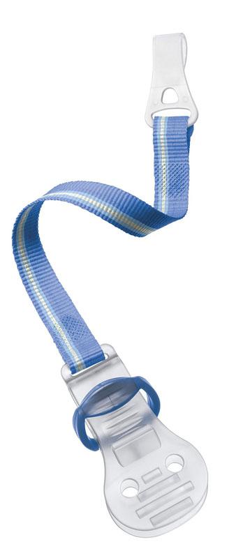 Philips Avent Клипса серия SCF185/00 для пустышки, цвет голубой клипса держатель avent для пустышек зеленый scf185 00
