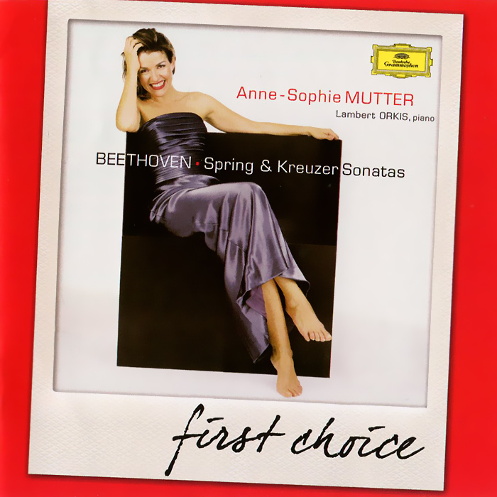 Анна-Софи Муттер,Ламберт Оркис Anne-Sophie Mutter, Lambert Orkis. Beethoven. Violin Sonatas Nos. 5 & 9 анна софи муттер anne sophie mutter mendelssohn cd dvd