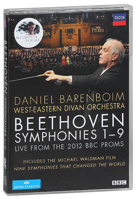 Beethoven: Symphonies 1-9 (4 DVD) г форе симфоническое аллегро op 68 allegro symphonique op 68