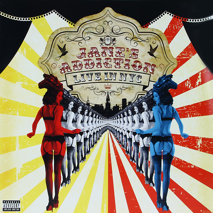 Jane's Addiction Jane's Addiction. Live In NYC (2 LP) jane s addiction jane s addiction sterling spoon limited anniversary edition 6 lp