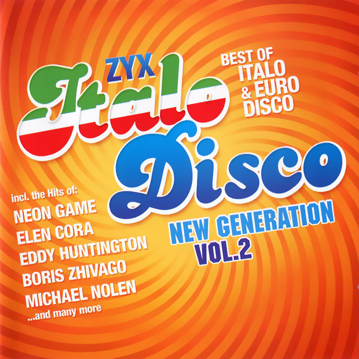 Italo Disco New Generation Vol. 2 (2 CD) milky disco three to the stars 2 cd