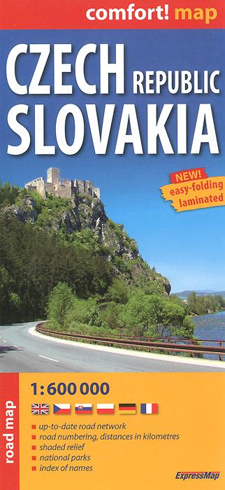 Aneta Rupniewska Czech Republic: Slovakia: Road Map домашние тапочки czech republic road