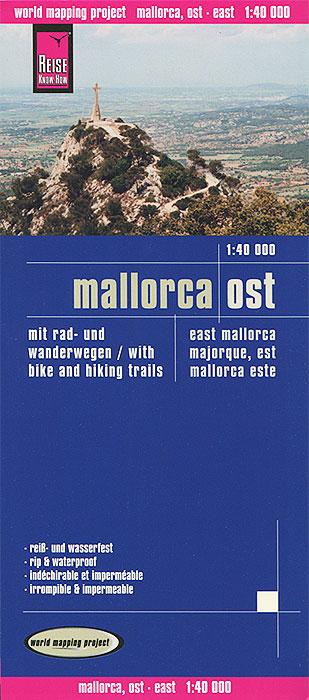 Mallorca. Ost. Карта