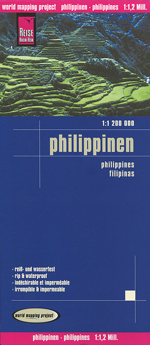 Philippinen. Карта