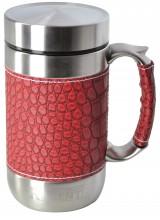 Кружка-термос Regent Inox Gotto, цвет: красный, 0,52 л термос кружка regent inox gotto 0 38 л стальной