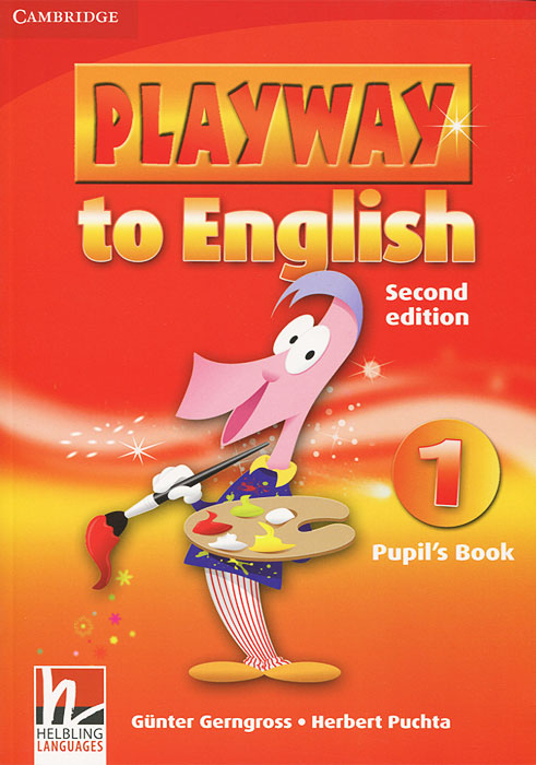 Playway to English 1: Pupil's Book (+ наклейки) playway to english 3 class musical video видеокурс на vhs