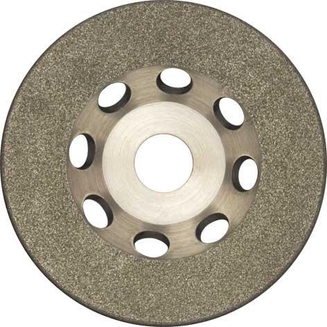 Диск шлифовальный FIT, алмазный, 125 мм диск алмазный fit 230х22 2мм 37467