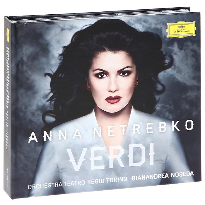 Анна Нетребко,Orchestra Teatro Regio Torino,Жанандреа Нозеда,Роландо Виллазон,Chorus Teatro Regio Torino Anna Netrebko. Verdi (CD + DVD) музыка dvd audio dts