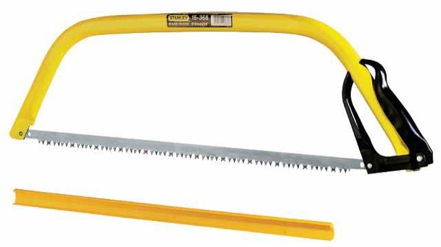 Пила лучковая Stanley, 61 см. 15-368 пила лучковая raco садовая длина полотна 52 5 см