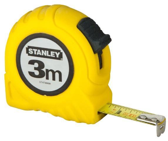 Рулетка Stanley Global Tape, 3 м х 12,7 мм