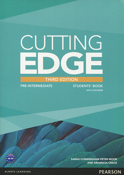 Cutting Edge: Pre-Intermediate: Student's Book (+ DVD-ROM) network pre intermediate b1 a video based course dvd