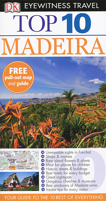 Top 10 Travel Guide: Madeira dk eyewitness top 10 travel guide puerto rico