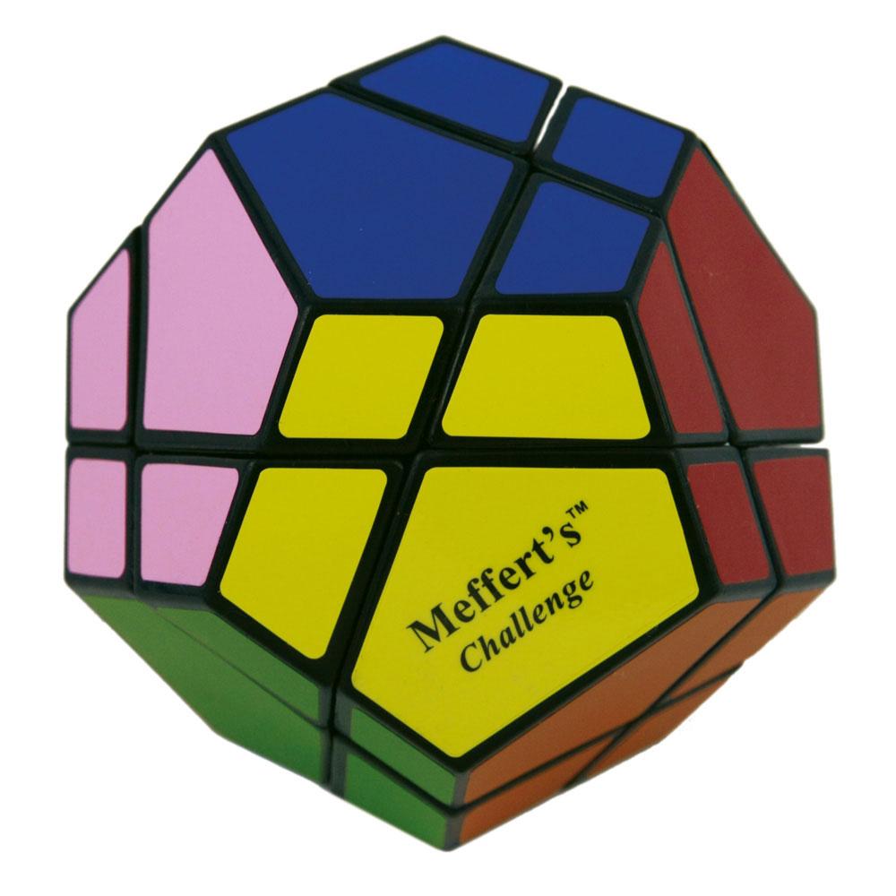 Головоломка Skewb (Скьюб)М5034Головоломка Skewb (Скьюб) - это уникальная занимательная игрушка, которая не позволит вам скучать! Это самая сложная разновидность Скьюба - версия Ultimate, у которой 12 цветов, и, хотя это в два раза больше, чем у кубика Рубика, не стоит делать поспешных выводов о ее сверхсложности. Skewb Ultimate - это настоящий вызов, редкость и раритет, который высоко ценится коллекционерами и любителями механических головоломок. Экзотическая форма головоломки представляет собой додекаэдр, равностороннее 12-гранное геометрическое тело. Каждую из сторон головоломки крест-накрест разрезают две линии, образующие элементы двух видов: маленькие трехцветные и большие четырехцветные. Оба разреза проходят насквозь через всю игрушку каждый раз разделяя ее ровно на две половины. Действительно, интересная и необычная головоломка. 100 миллионов комбинаций - и лишь 1 решение! Не обязательно собирать Скьюб по цветам, можно создавать красивые симметричные узоры из комбинации цветов. Головоломка Skewb (Скьюб) произведет впечатление на любого человека, а для коллекционера головоломок станет настоящей жемчужиной. Характеристики: Размер игрушки (ДхШхВ): 9 см х 9 см х 9 см. Размер упаковки (ДхШхВ): 19 см х 9 см х 18,5 см. Изготовитель: Китай.
