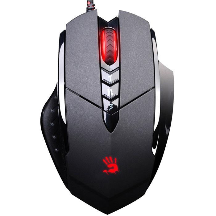 лучшая цена Игровая мышь A4Tech Bloody V7, Black проводная