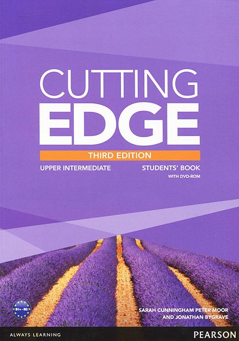 Cutting Edge: Upper Intermediate: Students' Book (+ DVD-ROM) babyline детская зубная паста со вкусом банана 1 4 лет 75 мл babyline