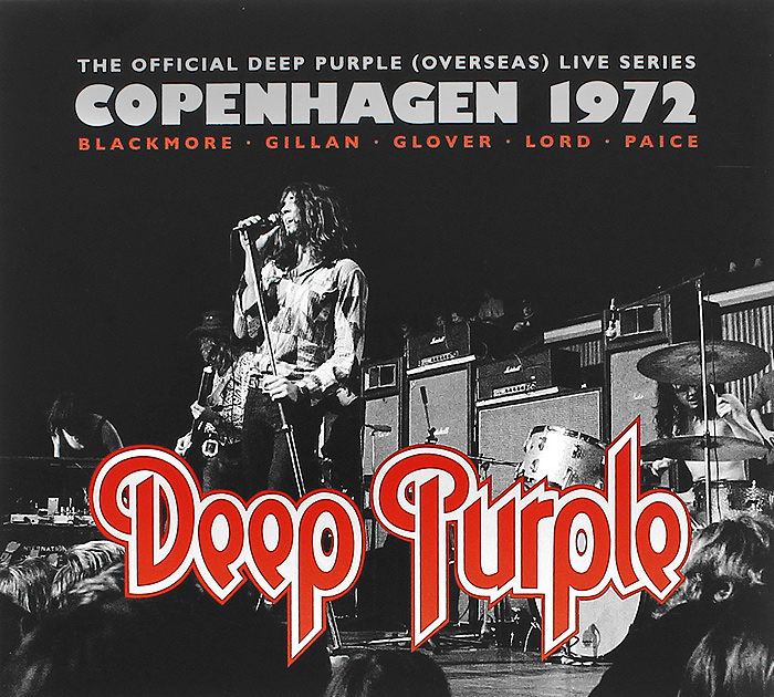 Deep Purple Deep Purple. Copenhagen 1972 (2 CD) cd deep purple infinite