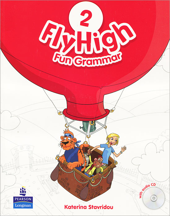 Fly High 2: Fun Grammar (+ CD-ROM) cartoon