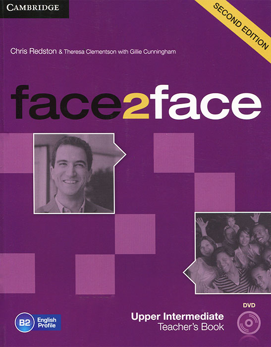 Face2Face: Upper Intermediate Teacher's Book (+ DVD) face2face 2ed upp int tb dvd