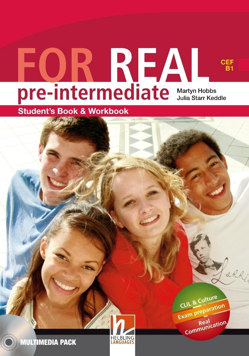 For Real Pre-intermediate Student's Pack STARTER+SB/WB + LINKS + CD-ROM + LINKS Audio CD team up starter wb students audio cd