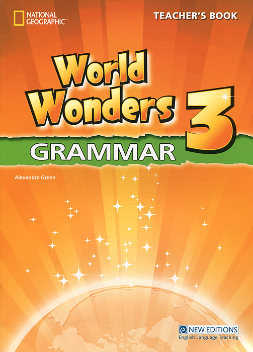 World Wonders 3: Grammar: Teacher's Book cartoon
