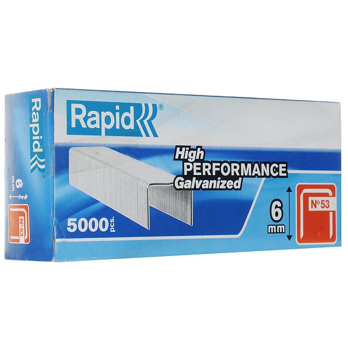 Скобы для степлера Rapid 53/6 5М Workline, 5000 шт цена