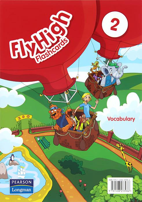 Fly High 2: Vocabulary: Flashcards (набор из 134 карточек) my first english adventure 2 starter flashcards набор из 22 карточек
