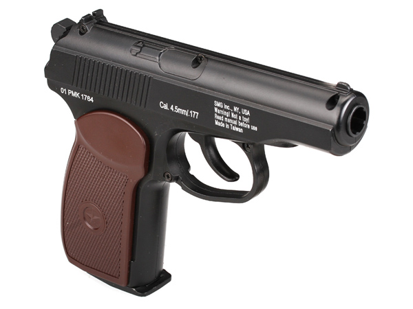 Gletcher PM пистолет пневматический NBB, CO2, 4,5 мм, цвет: Black (39974) цена
