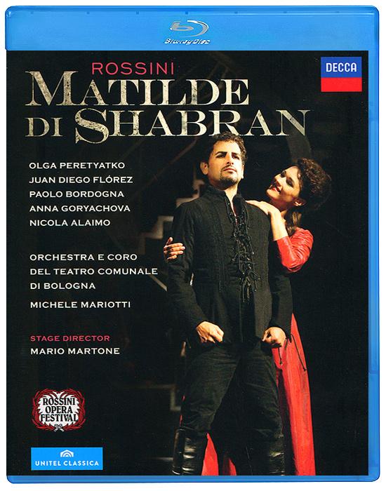 Michele Mariotti, Rossini: Matilde Di Shabran, Neapolitan Version, 1821 (Blu-ray) michele mariotti rossini matilde di shabran neapolitan version 1821 blu ray