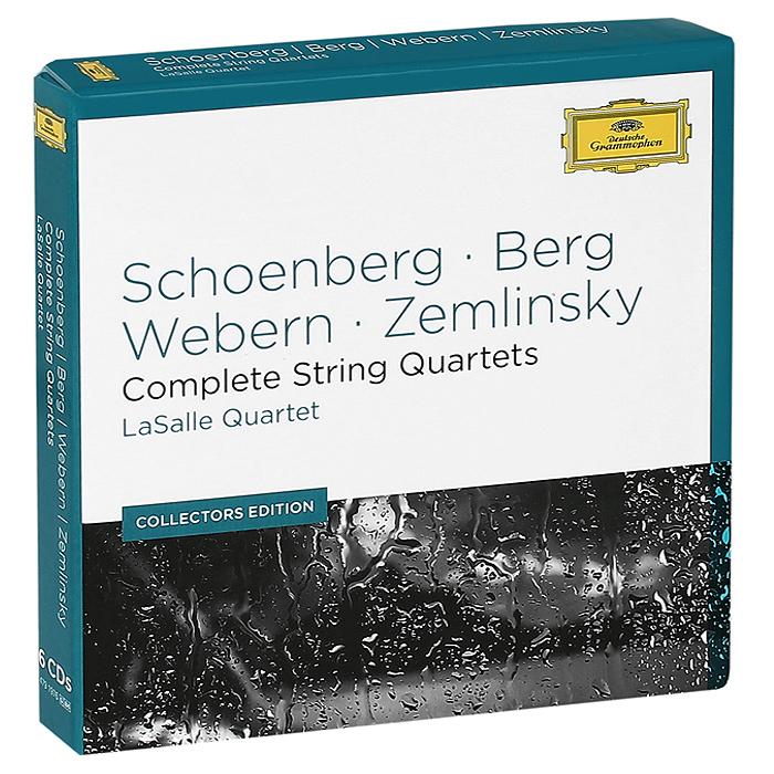 LaSalle Quartet LaSalle Quartet. Schoenberg, Berg, Webern, Zemlinsky. Complete String Quartets (6 CD) цена и фото