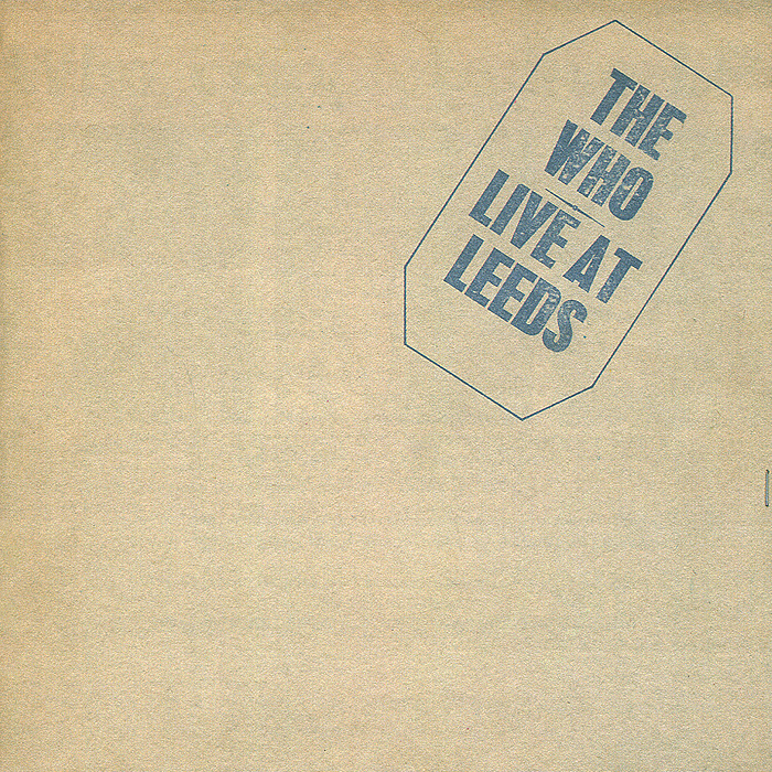 The Who The Who. Live At Leeds who who the who sell out