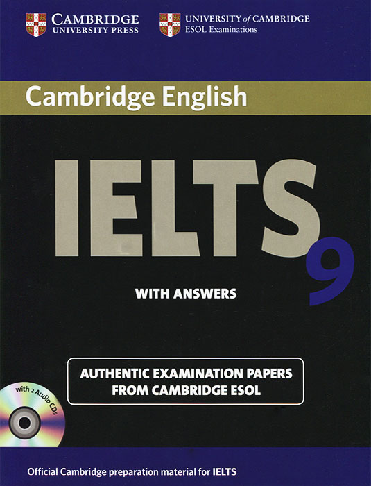 Cambridge IELTS 9 Self-study Pack with Answers (+ 2 CD) new insight into ielts workbook pack audio cd