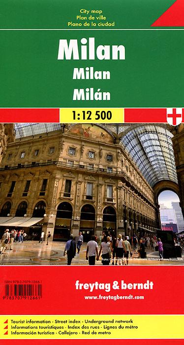 Milan: City Map milan pocket map