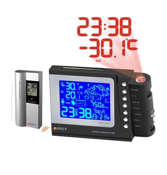 RST32705 проекционная погодная станция погодная станция rst 02523