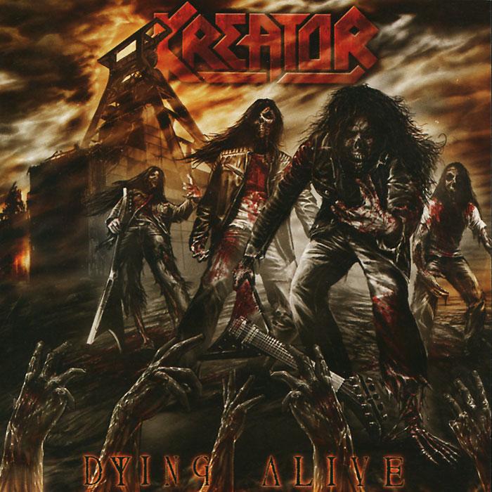 Kreator Kreator. Dying Alive (2 CD) kreator gods of violence dvd cd