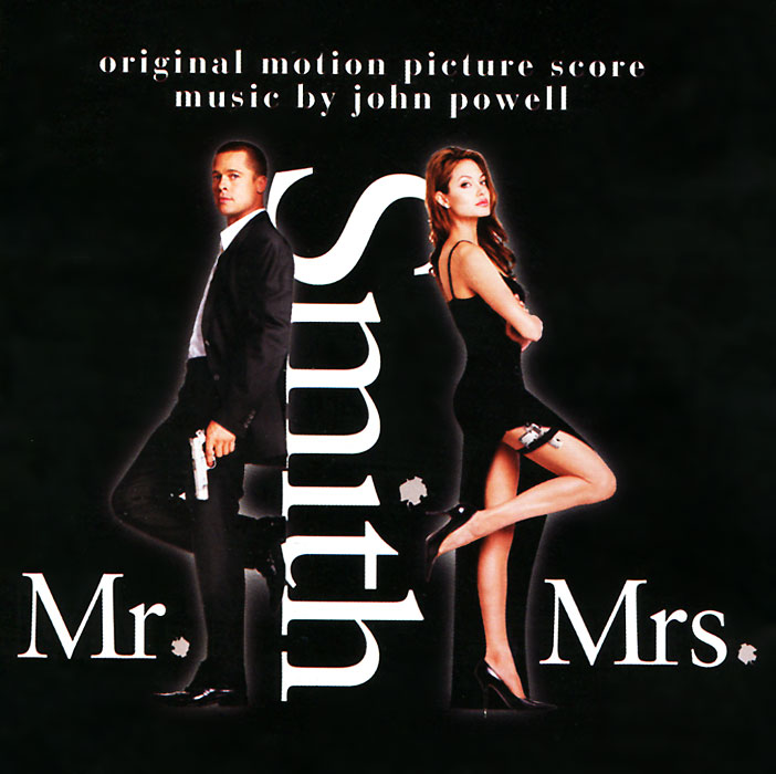 Mr. & Mrs. Smith. Original Motion Picture Score Musik By John Powell the spy who loved me original motion picture score lp