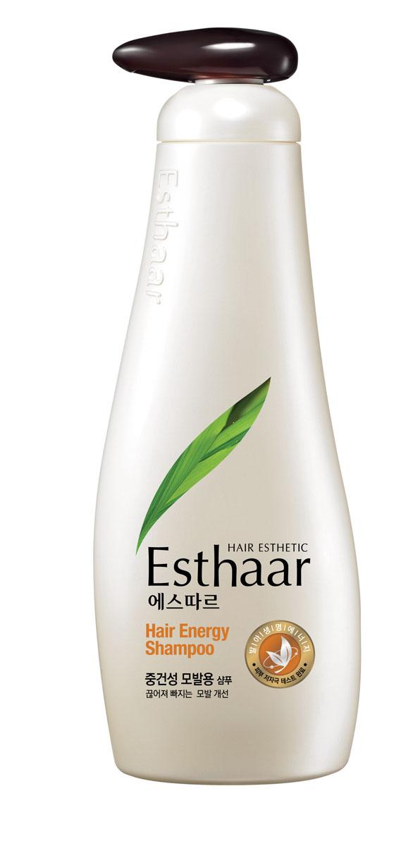 Esthaar Шампунь Энергия волос, для нормальной и сухой кожи головы, 500 г esthaar шампунь купить