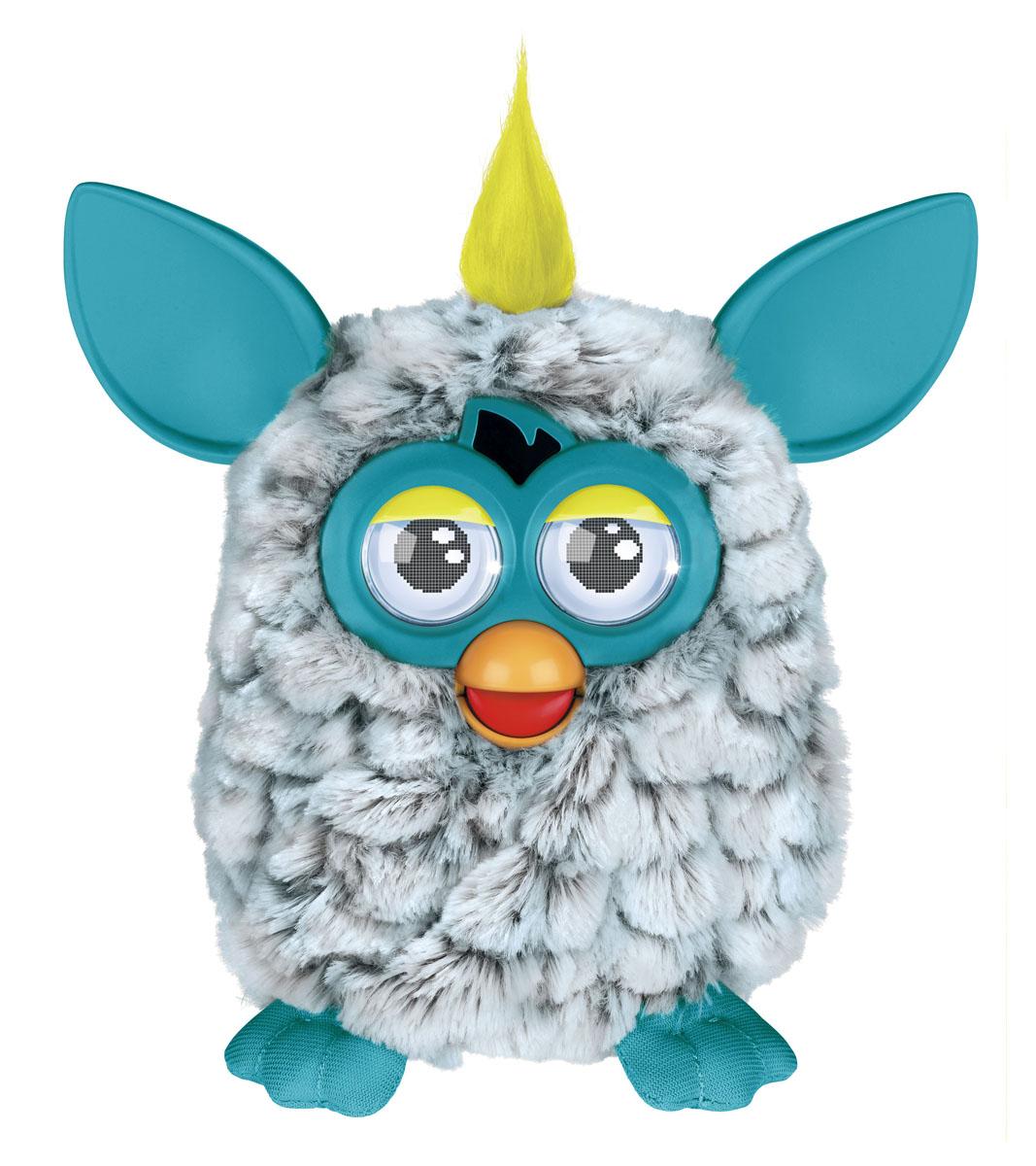 Furby (Фёрби) Интерактивная игрушка, цвет: cеро-зеленый ...