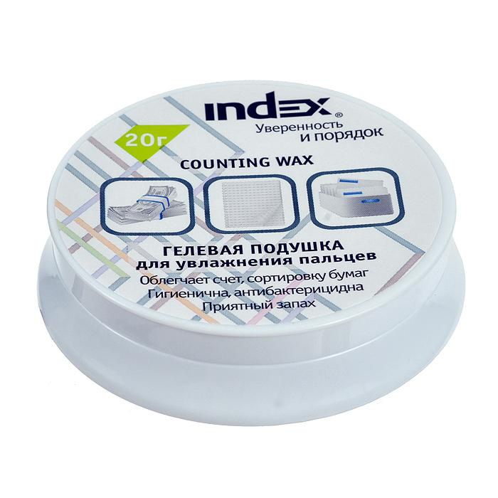Подушка для смачивания пальцев Index, гелевая, 20 г