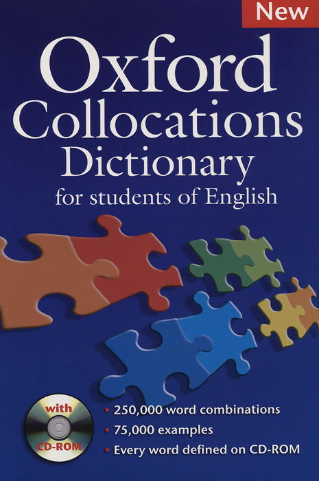 Oxford Collocations Dictionary (+ CD-ROM) oxford phonics world 2 student book 2 cd rom