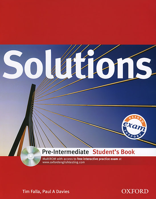 Solutions: Pre-Intermediate: Student's Book (+ CD-ROM) solutions pre intermediate student s book