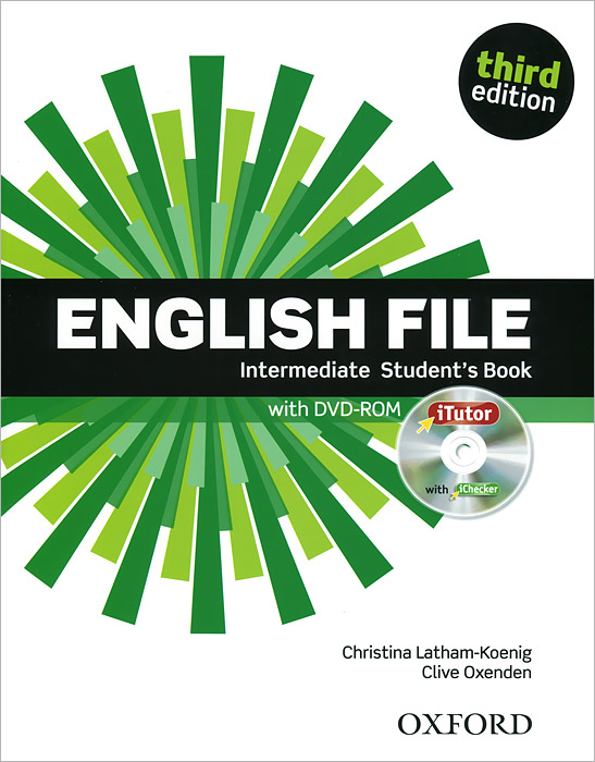 English File: Intermediate: Student's Book (+ DVD-ROM) learning english language via snss and students academic self efficacy