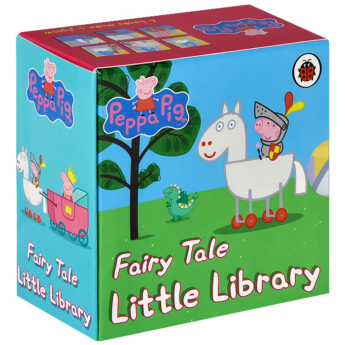 Peppa Pig: Fairy Tale Little Library (комплект из 6 книг)