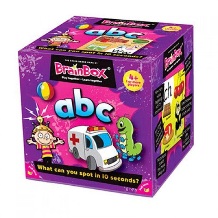 BrainBox Настольная игра Сундучок знаний ABC сундучок знаний настольная игра сундучок знаний космос brainbox