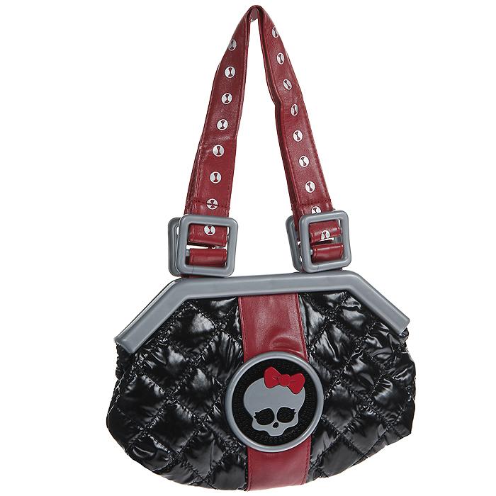 Сумочка Monster High, музыкальная, цвет: черный mattel monster high dvh72 школа монстров электро фрэнки из серии под напряжением