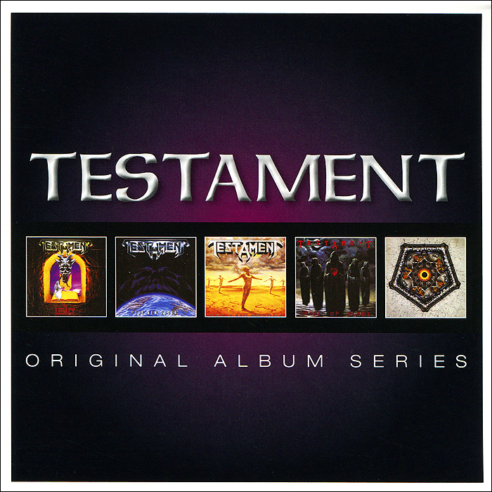 Testament Testament. Original Album Series (5 CD) рикки джонс rickie lee jones original album series 5 cd