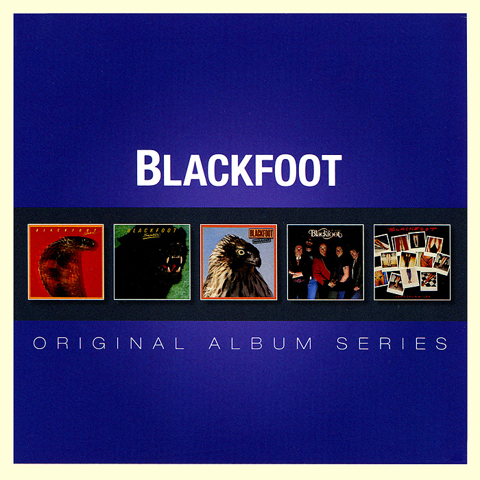 Blackfoot Blackfoot. Original Album Series (5 CD) рикки джонс rickie lee jones original album series 5 cd